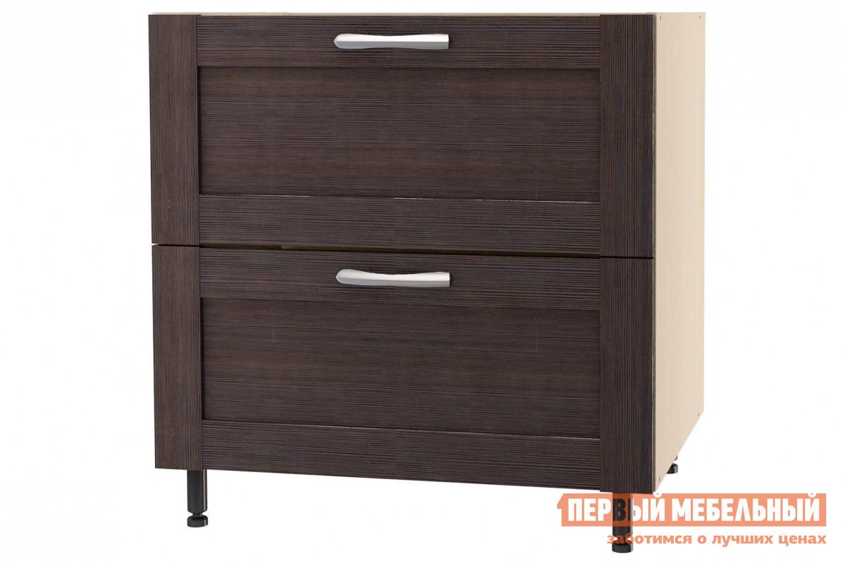 Кухонный модуль СтолЛайн Шкаф напольный с 2 ящиками ш.800