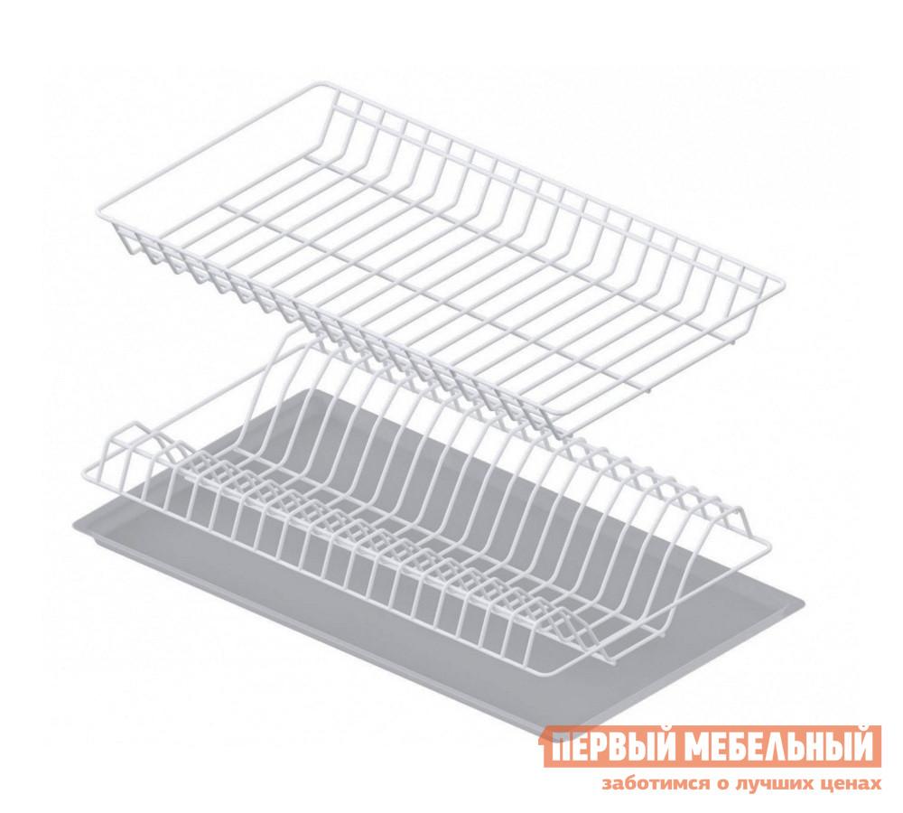 Сушилка для посуды СтолЛайн Сушка с поддоном 500 мм сушилка д посуды мечта хозяйки 3 48 5х30х9см с поддоном плас