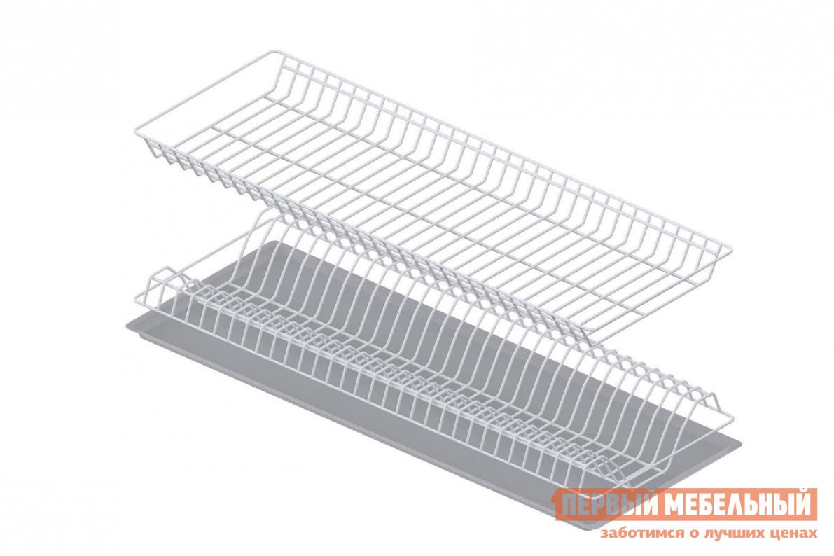 Сушилка для посуды СтолЛайн Сушка с поддоном 800 мм сушилка для посуды мультидом с поддоном