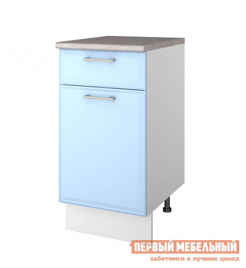 Кухонный модуль СтолЛайн Шкаф напольный ш40 с 1-м ящ.+ фасад + столешница