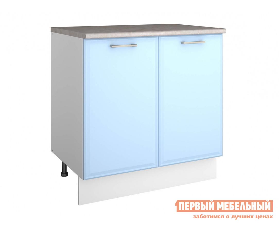 Кухонный модуль СтолЛайн Шкаф напольный ш80 + фасад + столешница