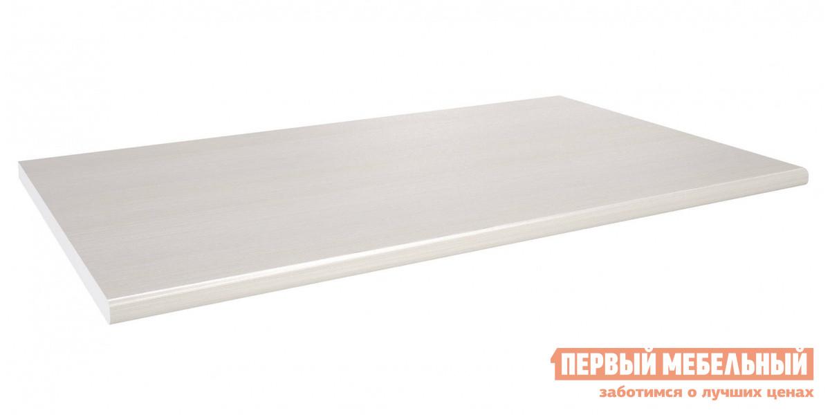 Столешница СтолЛайн 100*60 (С-100) Риголетто светлыйСтолешницы<br>Габаритные размеры ВхШхГ 26x1000x600 мм. Столешница для кухонного стола размером (ШхГ): 1000 х 600 мм.  Изготавливается из ДСП толщиной 26 мм.  Поверхность столешницы и торцевая кромка выполнены из пластика.  Такое покрытие обеспечивает устойчивость к запахам, загрязнениям, истиранию, царапинам, воздействию открытого огня, кислотных и щелочных сред.<br><br>Цвет: Белый<br>Высота мм: 26<br>Ширина мм: 1000<br>Глубина мм: 600<br>Кол-во упаковок: 1<br>Форма поставки: В разобранном виде<br>Срок гарантии: 18 месяцев<br>Тип: Прямые