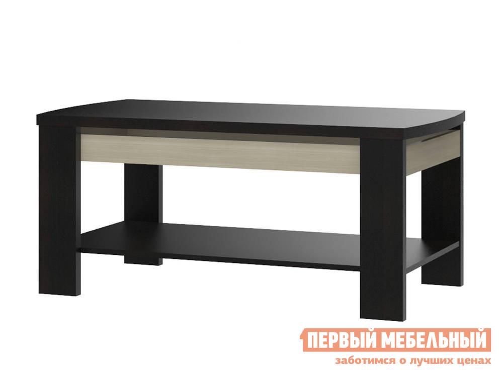 Чайный столик СтолЛайн Ксено СТЛ.078.09 журнальный столик в стиле модерн столлайн ксено стл 078 09 корпус дуб феррара фасад ясень глянец