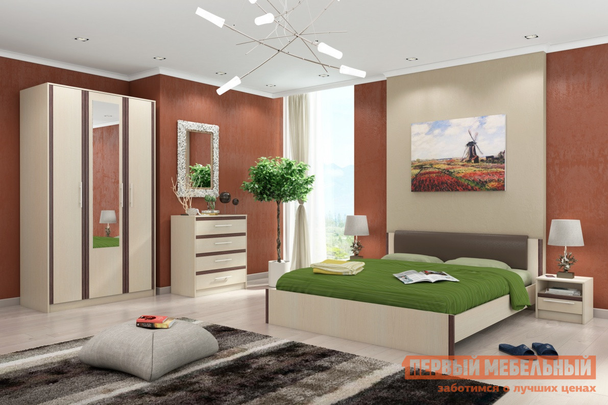 Спальный гарнитур СтолЛайн Новелла К1 спальный гарнитур нк мебель марика к1