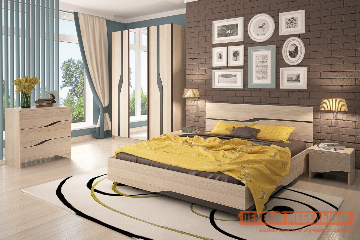 Комплект мебели для спальни СтолЛайн Кензо К1 кухонный гарнитур столлайн селена к1