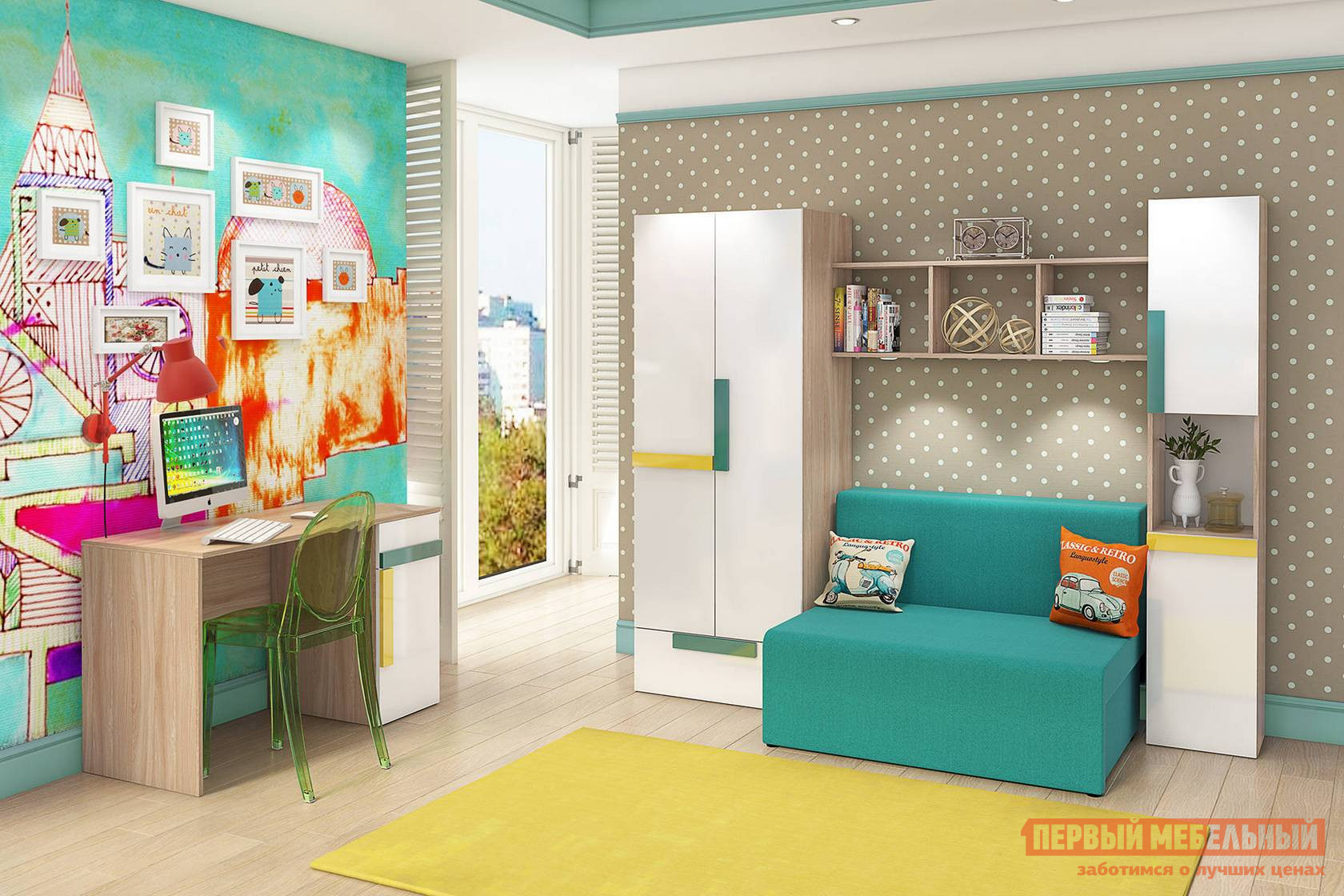 Комплект детской мебели СтолЛайн Умка СТЛ К1 комплект детской мебели мебельсон амели м к1