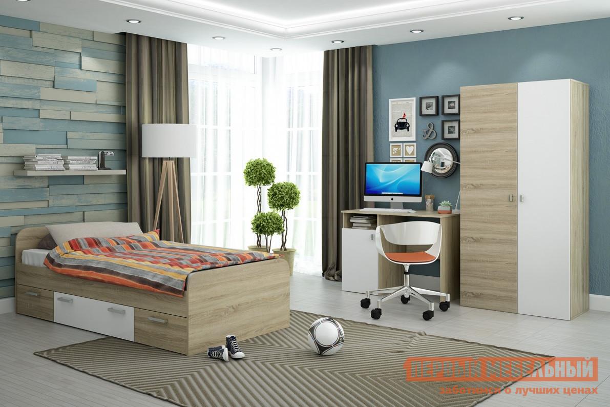 Комплект детской мебели СтолЛайн Мика Дуб Сонома К1 спальный гарнитур трия саванна к1