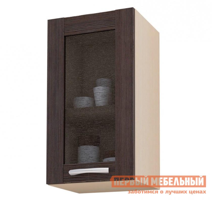 Шкаф-витрина СтолЛайн Навесной с ш.400, 1 дв (витрина) шкаф витрина адриана