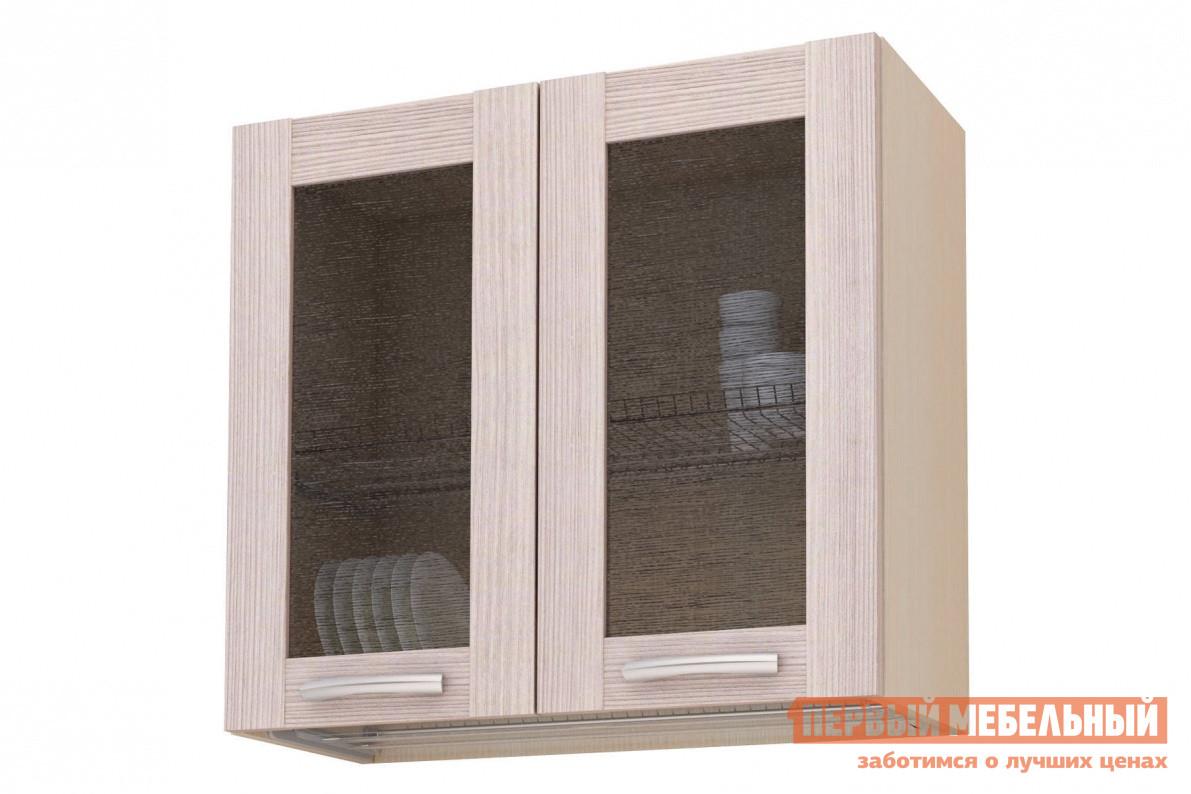 Кухонный модуль СтолЛайн Навесной ш.800, 2 дв витрина-сушка