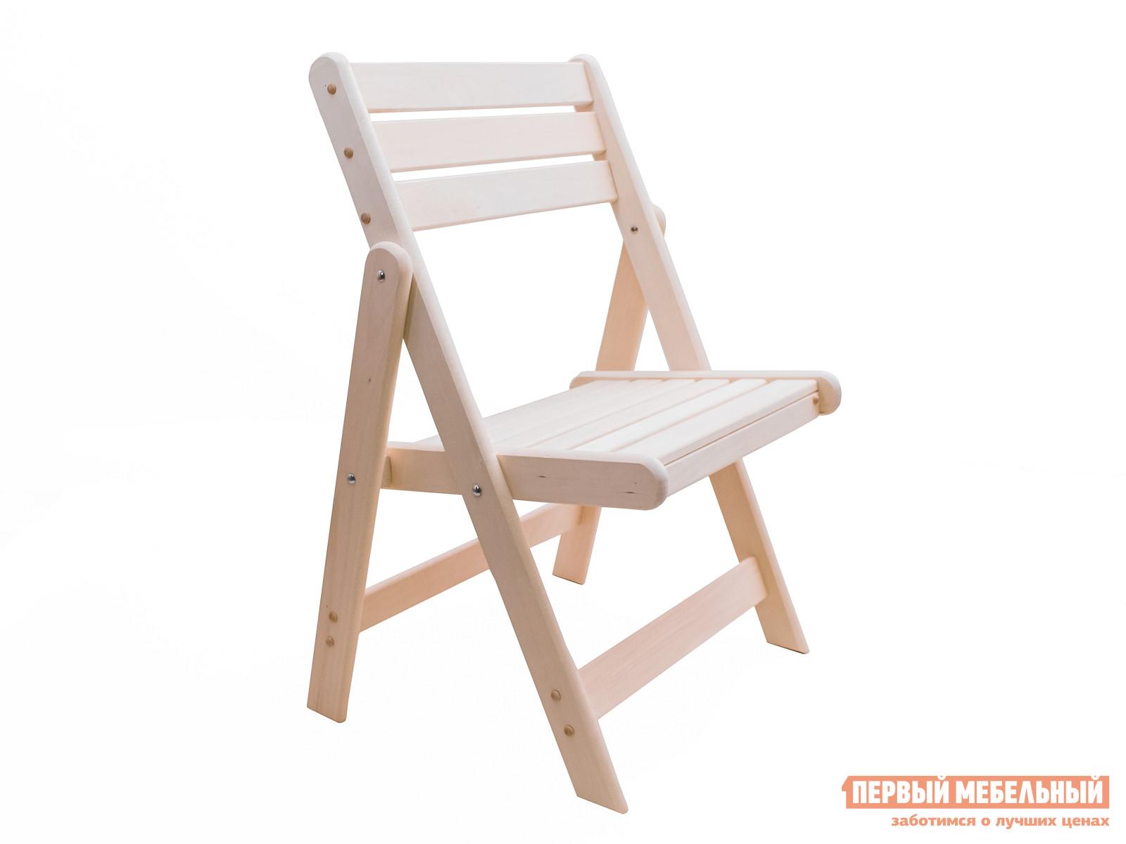 Деревянный раскладной садовый стул МариМебель Сальмо деревянный уличный стол раскладной маримебель паскаль