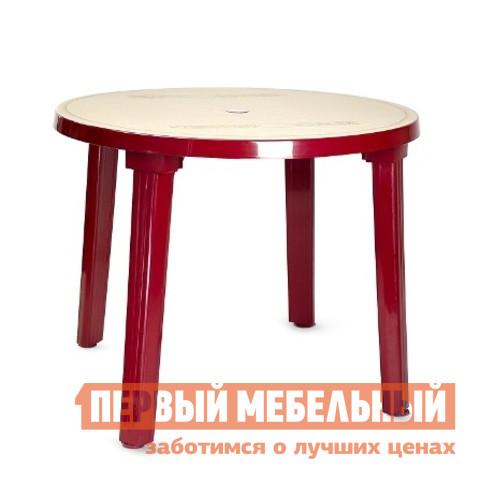 Пластиковый стол ЛетоЛюкс Стол пластиковый круглый 90