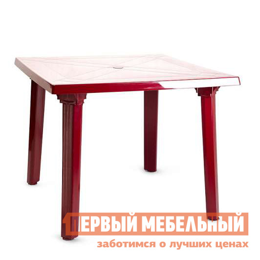Пластиковый стол ЛетоЛюкс Стол квадрат 900х900х710 АГР пластиковый стол sumatra