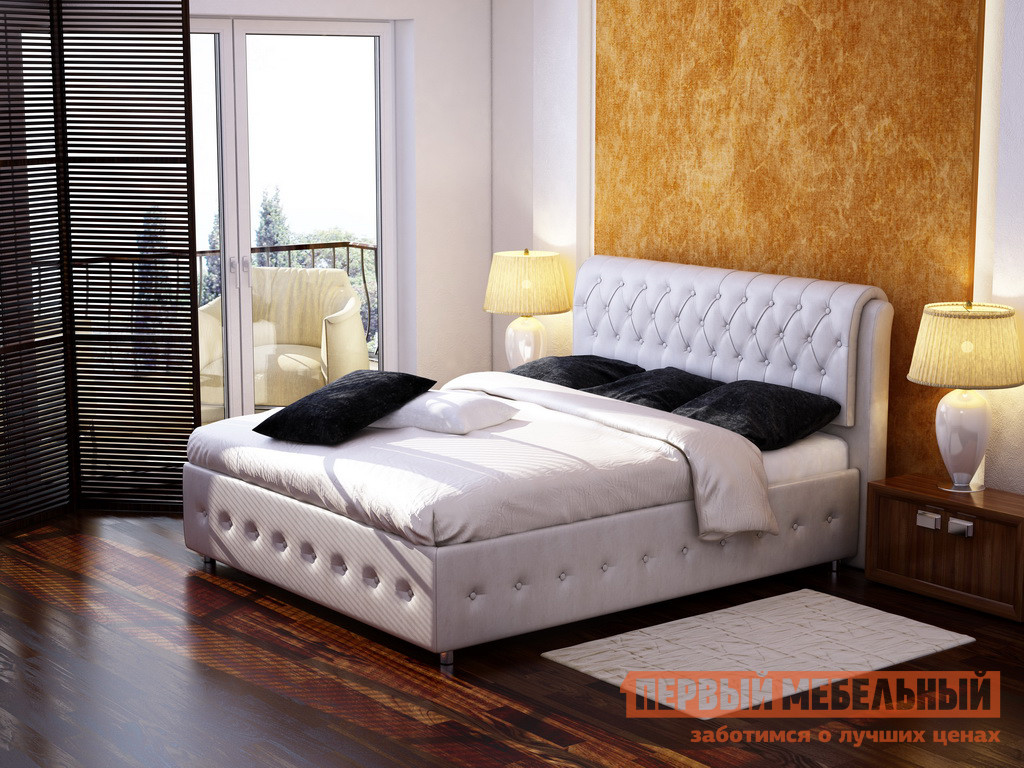 Двуспальная кровать Орматек Como 4 двуспальная кровать витра 98 01