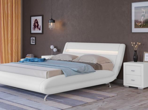 двуспальная кровать корсо 7 купить в москве и спб в интернет