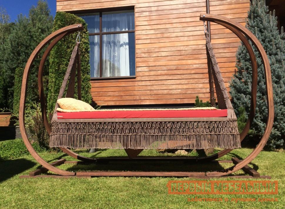 Дачные деревянные качели для сада Besta fiesta МАРРАКЕШ