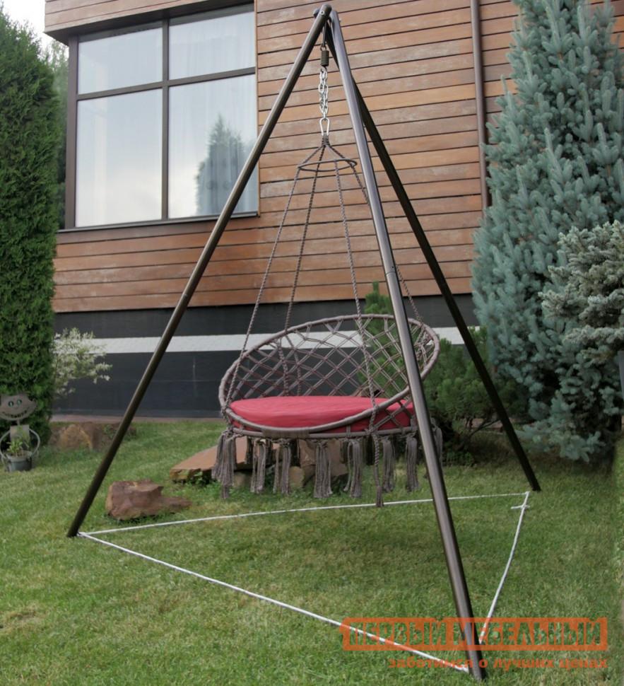 Круглое подвесное кресло-гамак Besta fiesta Кресло ARUBA + каркас МАЙЯ (металл) skyline подвесное кресло