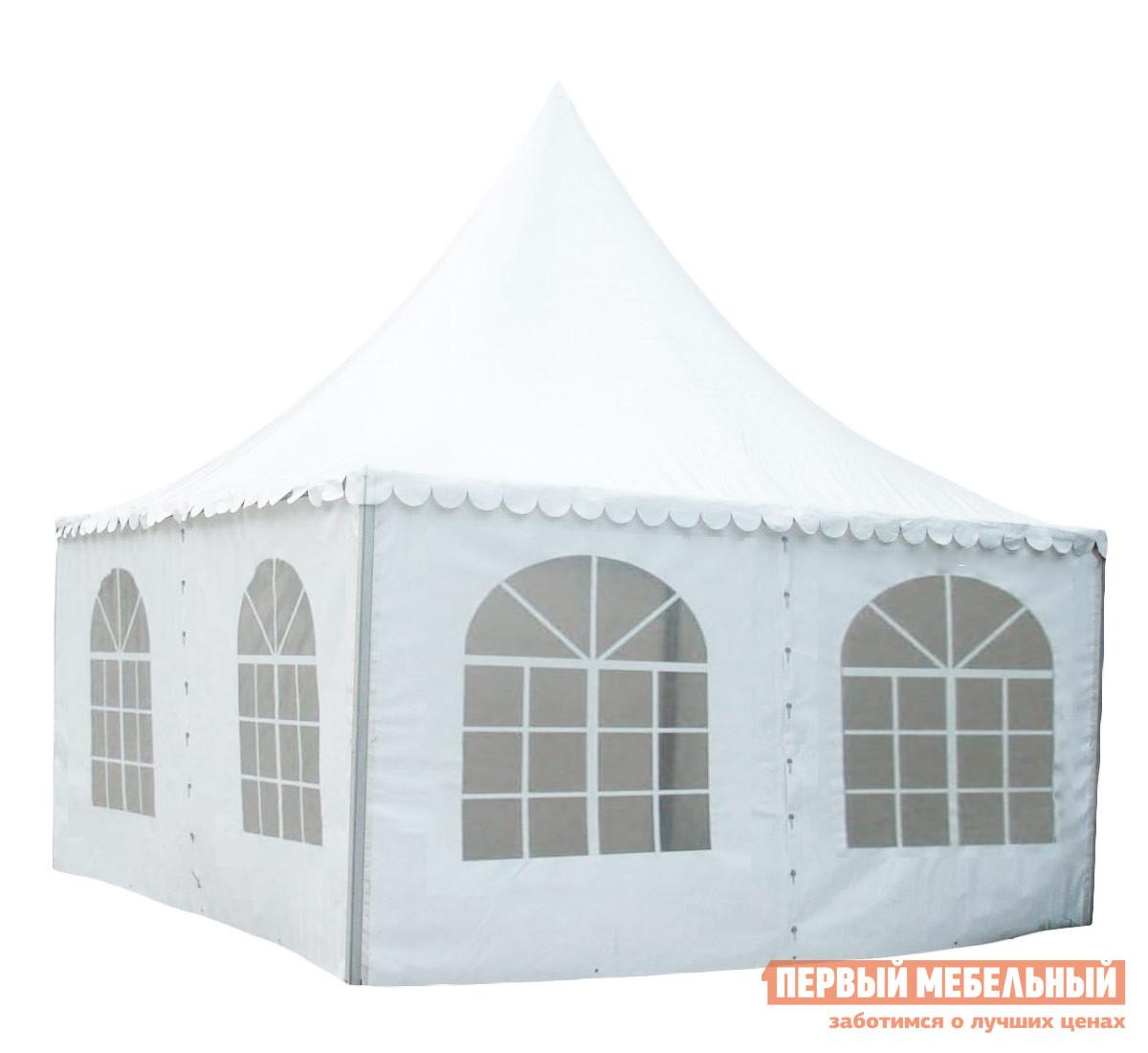 Шатер-пагода для мероприятий Giza Garden Азарина 6х6 раздвижной шатер гармошка giza garden гиза эко 3х3