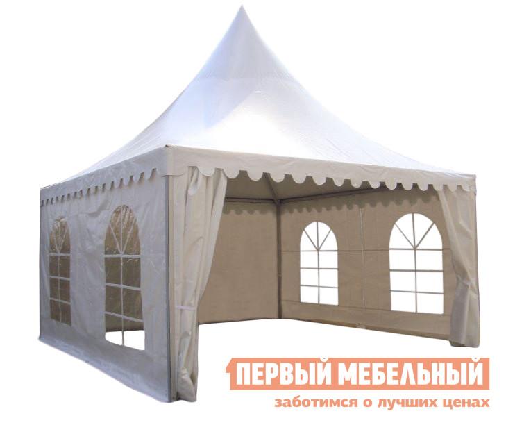 Шатер-пагода для мероприятий Giza Garden Азарина Эко 5х5 раздвижной шатер гармошка giza garden гиза эко 3х3