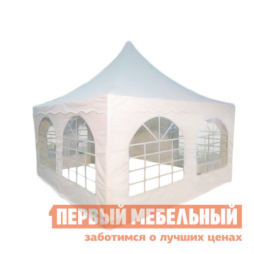 Шатер-пагода для дачи Giza Garden Азарина 4х4 раздвижной шатер гармошка giza garden гиза эко 3х3