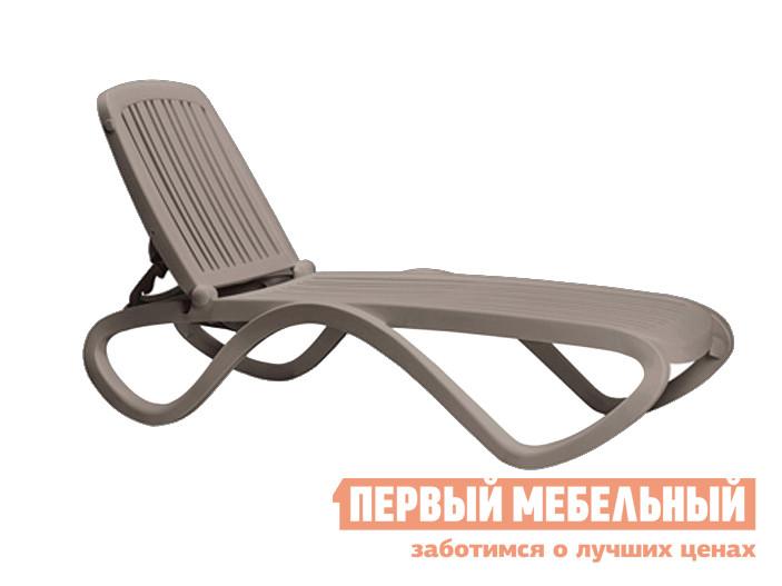 Шезлонг Рихаус Шезлонг-лежак пластиковый TROPICO 003/4041310000 цена