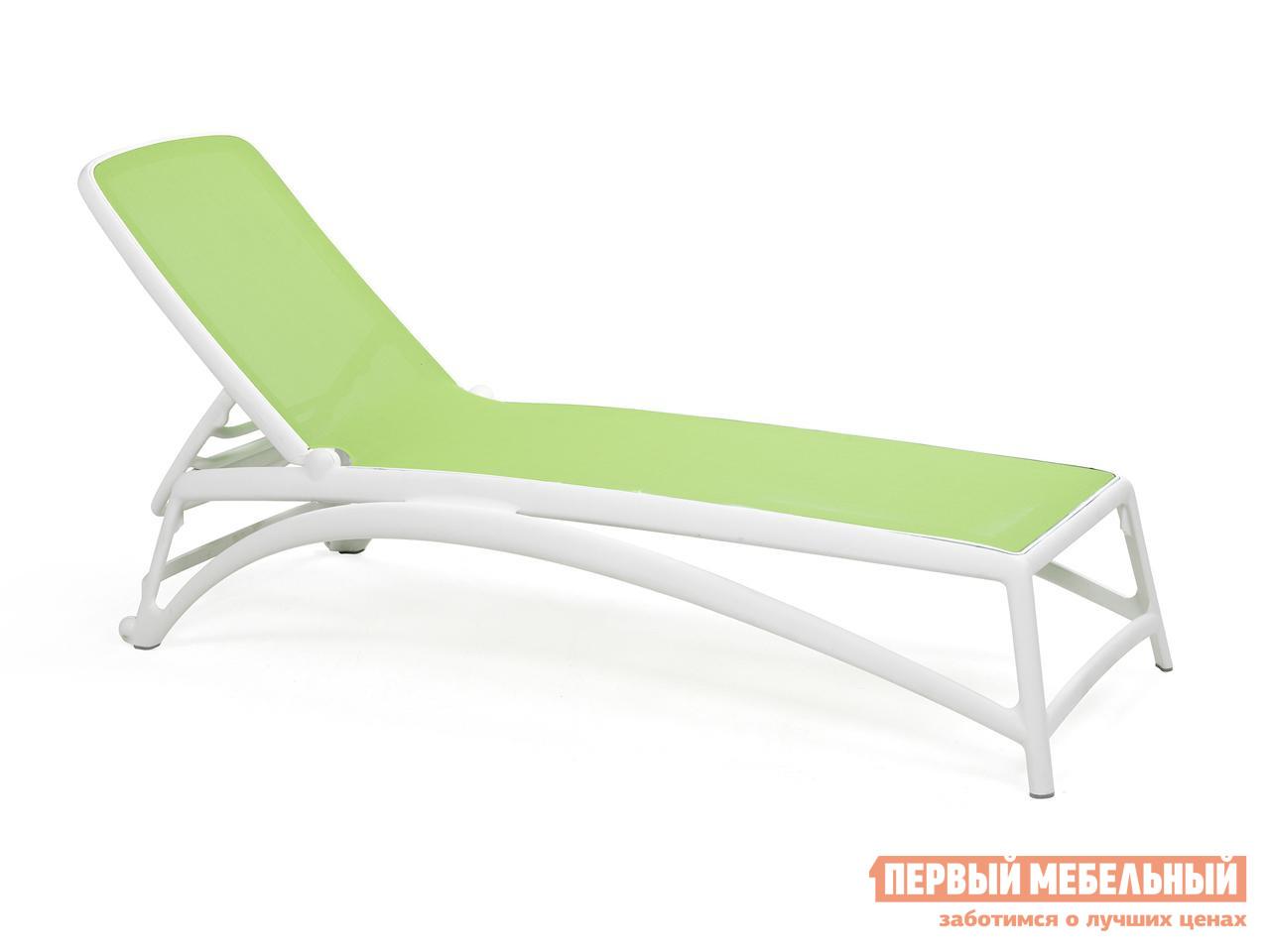 Шезлонг пластиковый складной пляжный Рихаус Atlantico пластиковый стул рихаус riva bistrot