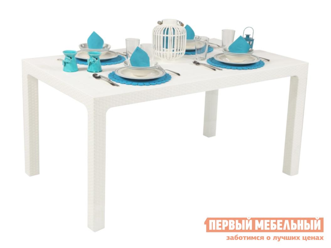 Садовый стол Рихаус Стол пластиковый Arizona DEL/AR-R/80x140/F пластиковый стул рихаус net 4032656000 4032675000