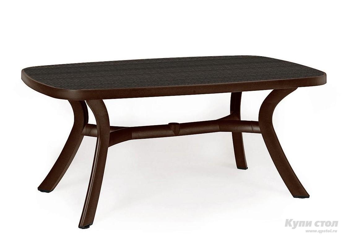 Пластиковый стол TOSCANA 165 КупиСтол.Ru 8950.000