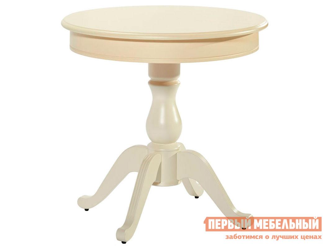 Кухонный стол  Стол раздвижной Фабрицио 1 Тон 10, Слоновая кость, Большой