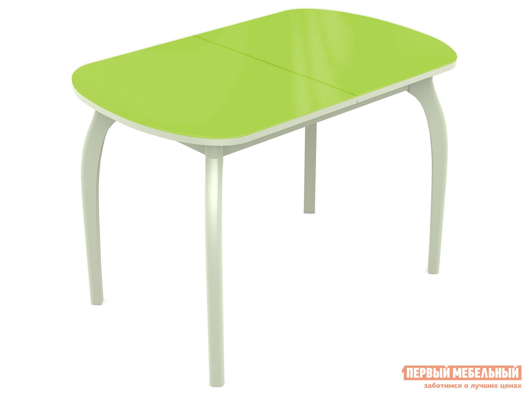 Кухонный стол Линоторг Ривьера - Стекло - Дерево