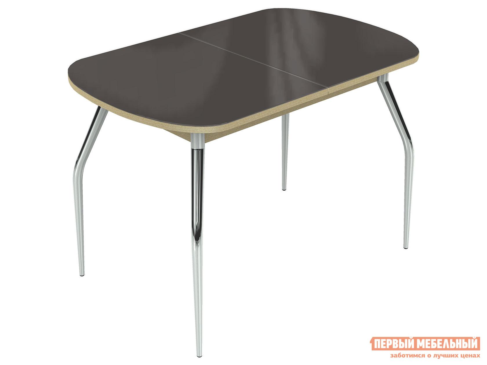 Кухонный стол Линоторг Ривьера - Стекло - Хром