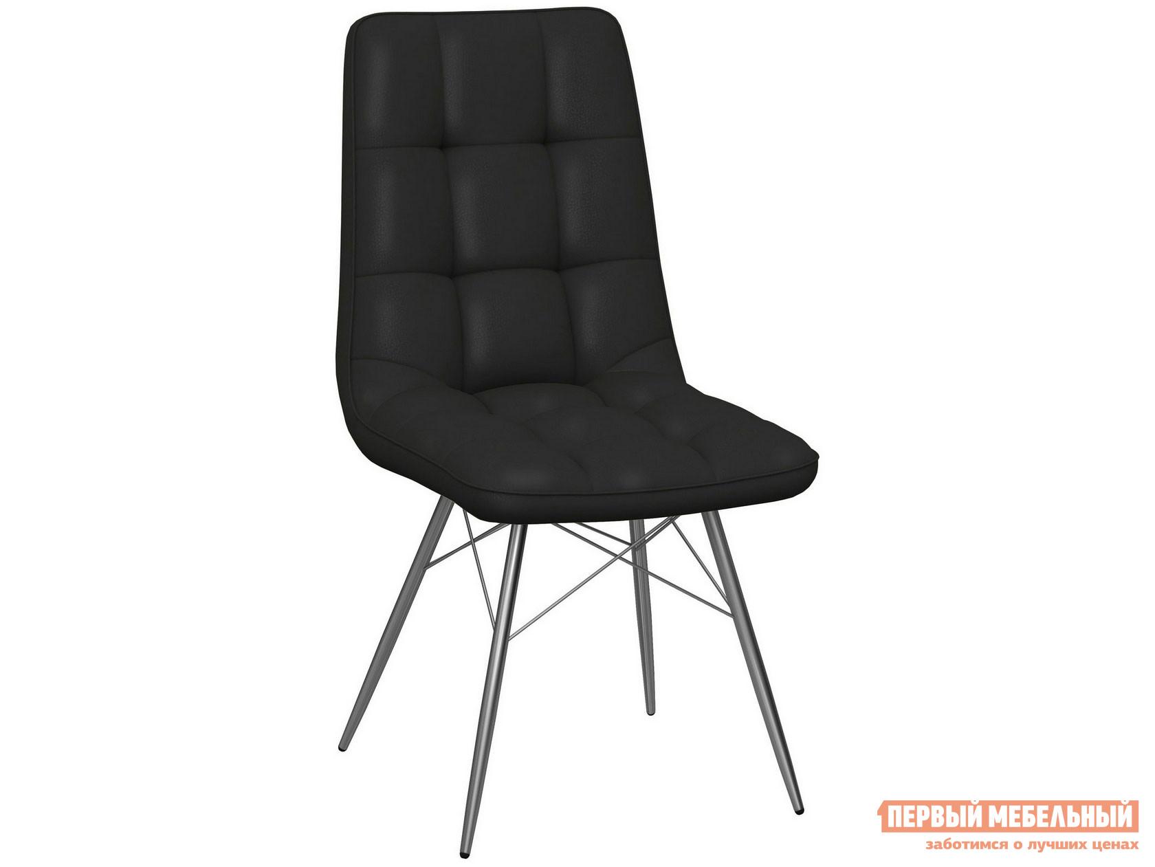 Стул  Стул Бордо паук Батлер 07 (Черный), иск. кожа / Каркас Нержавеющая сталь