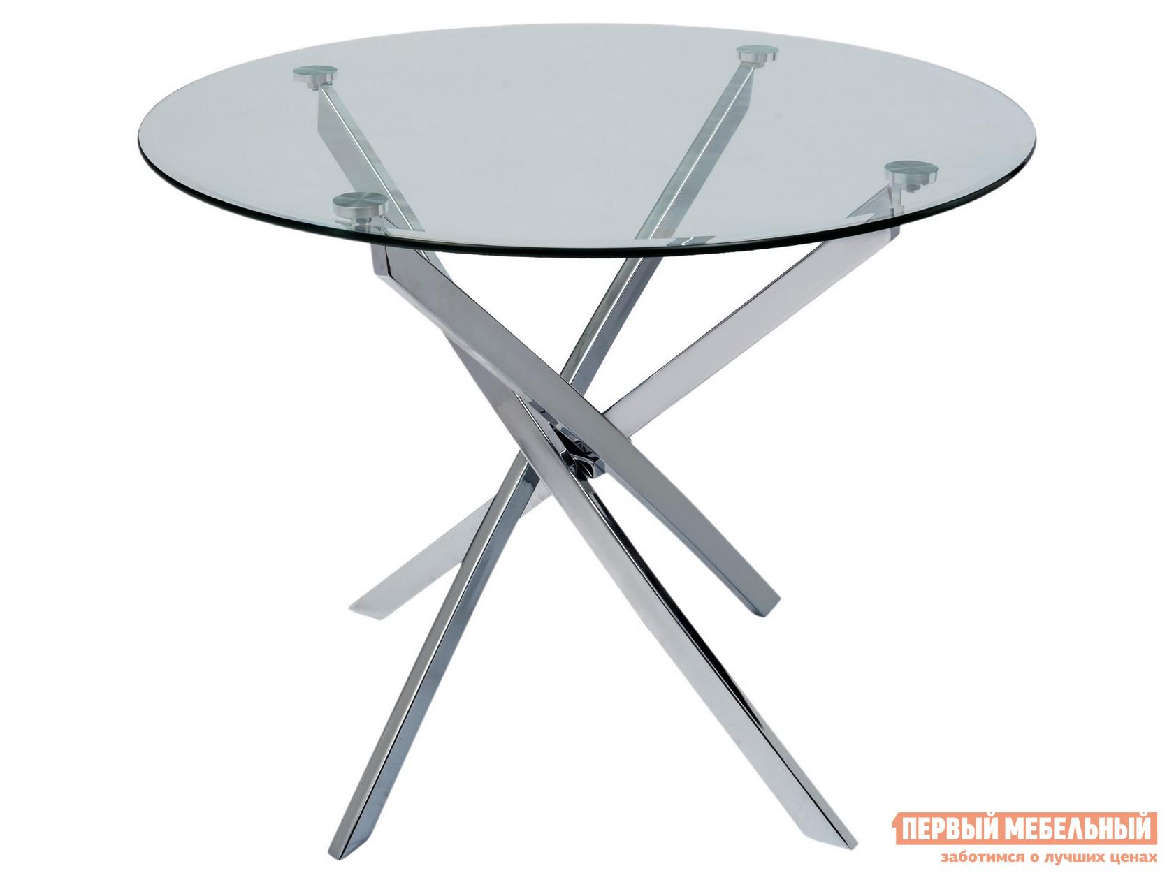 Кухонный стол Первый Мебельный Стол Z-213/100 GLASS+Z-213/100 LEGS