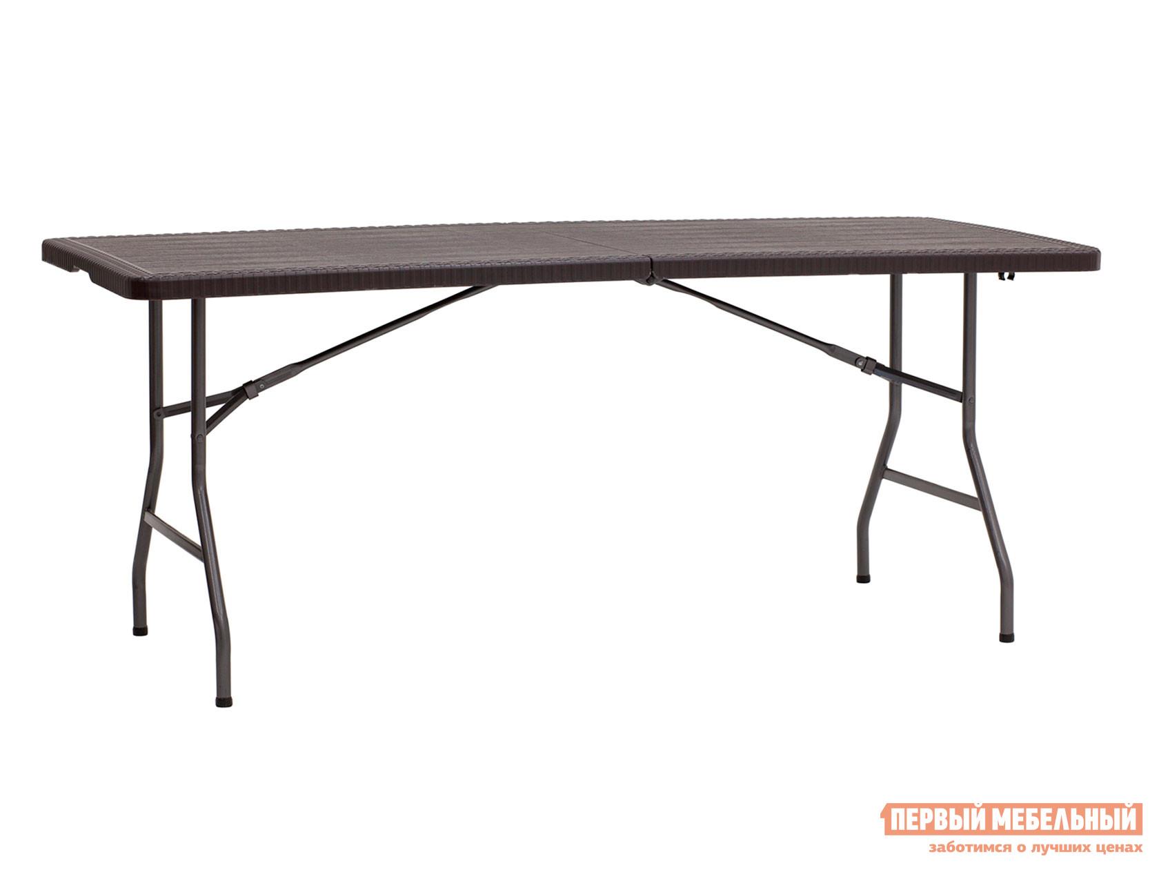 Стол для пикника  Стол складной 182*74*74 см Коричневый