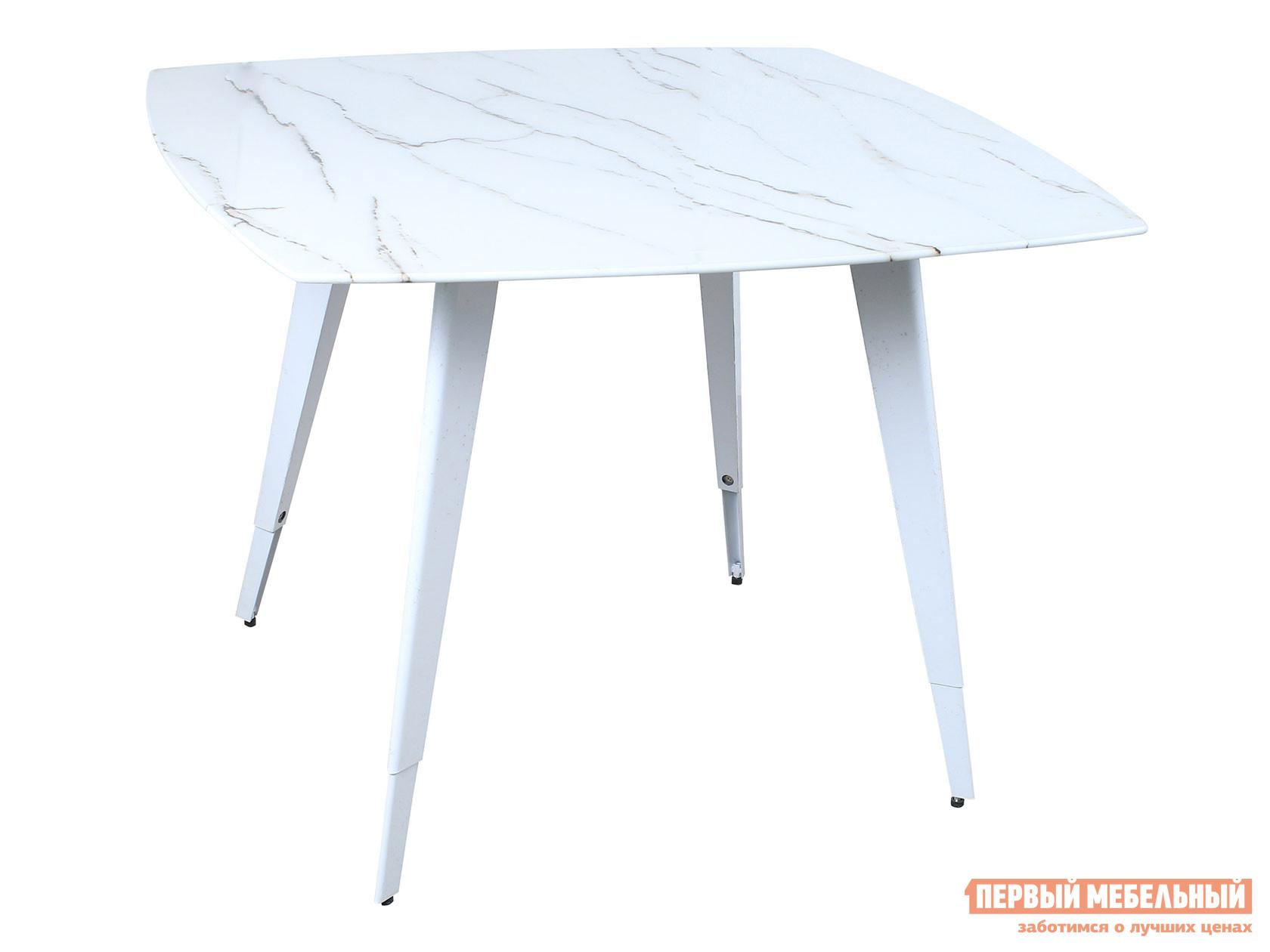 Кухонный стол  обеденный Ричмонд DT-983-G/W-100 Белый, стекло Stool Group 108795