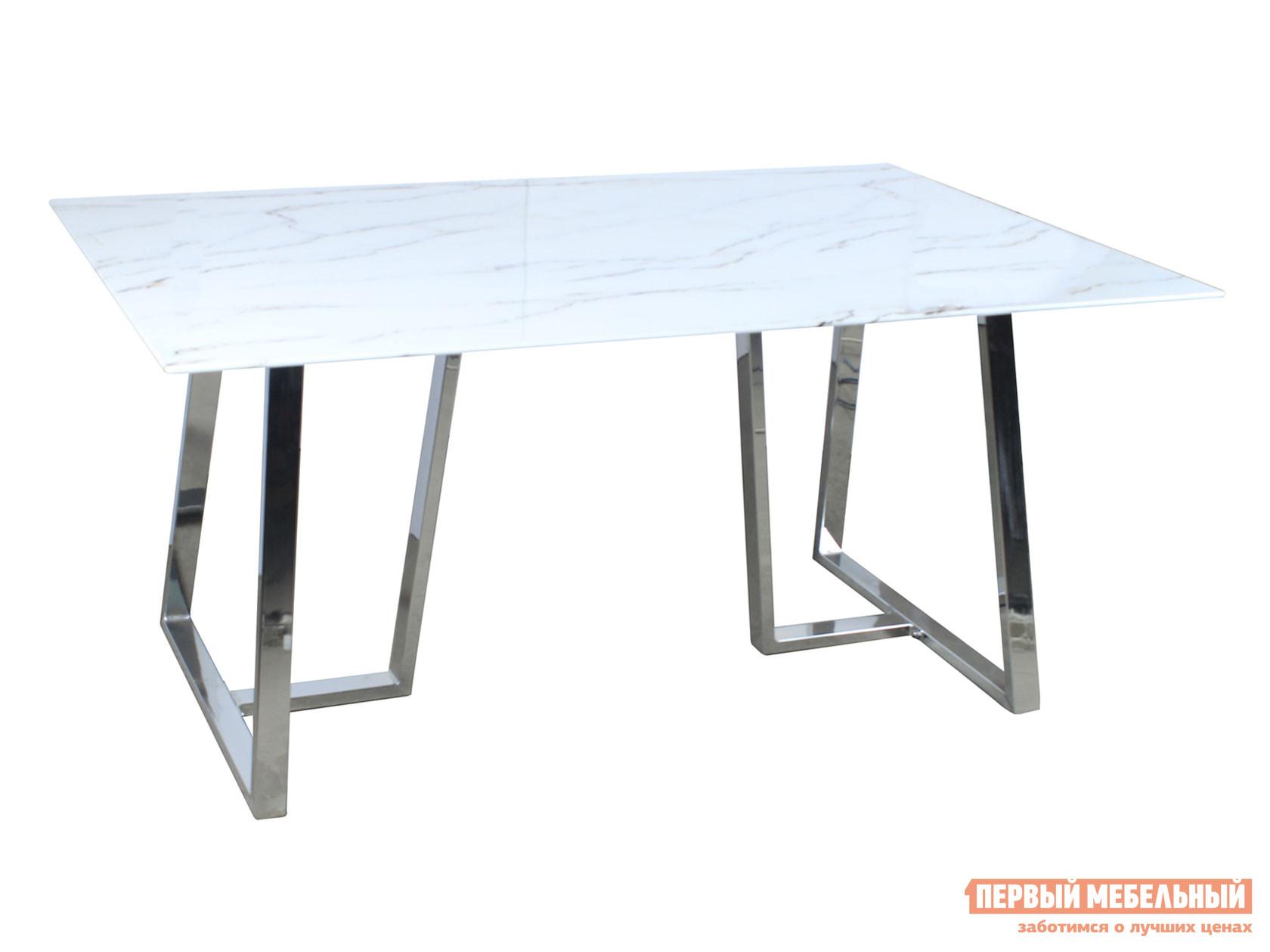 Кухонный стол  обеденный Даллас DT-923 Белый, стекло Stool Group 108803