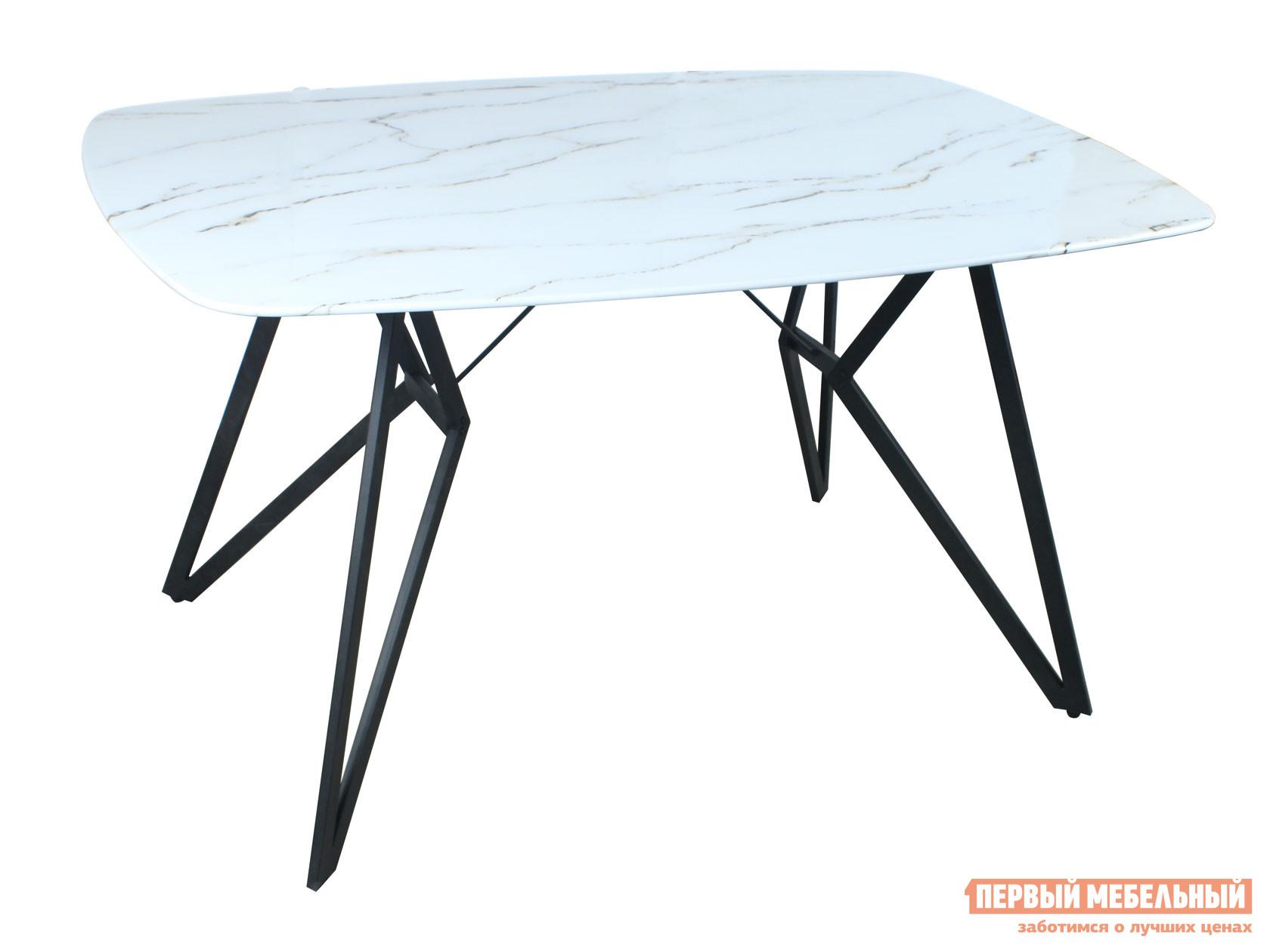 Кухонный стол  обеденный Денвер DT-904G Белый, стекло Stool Group 108776