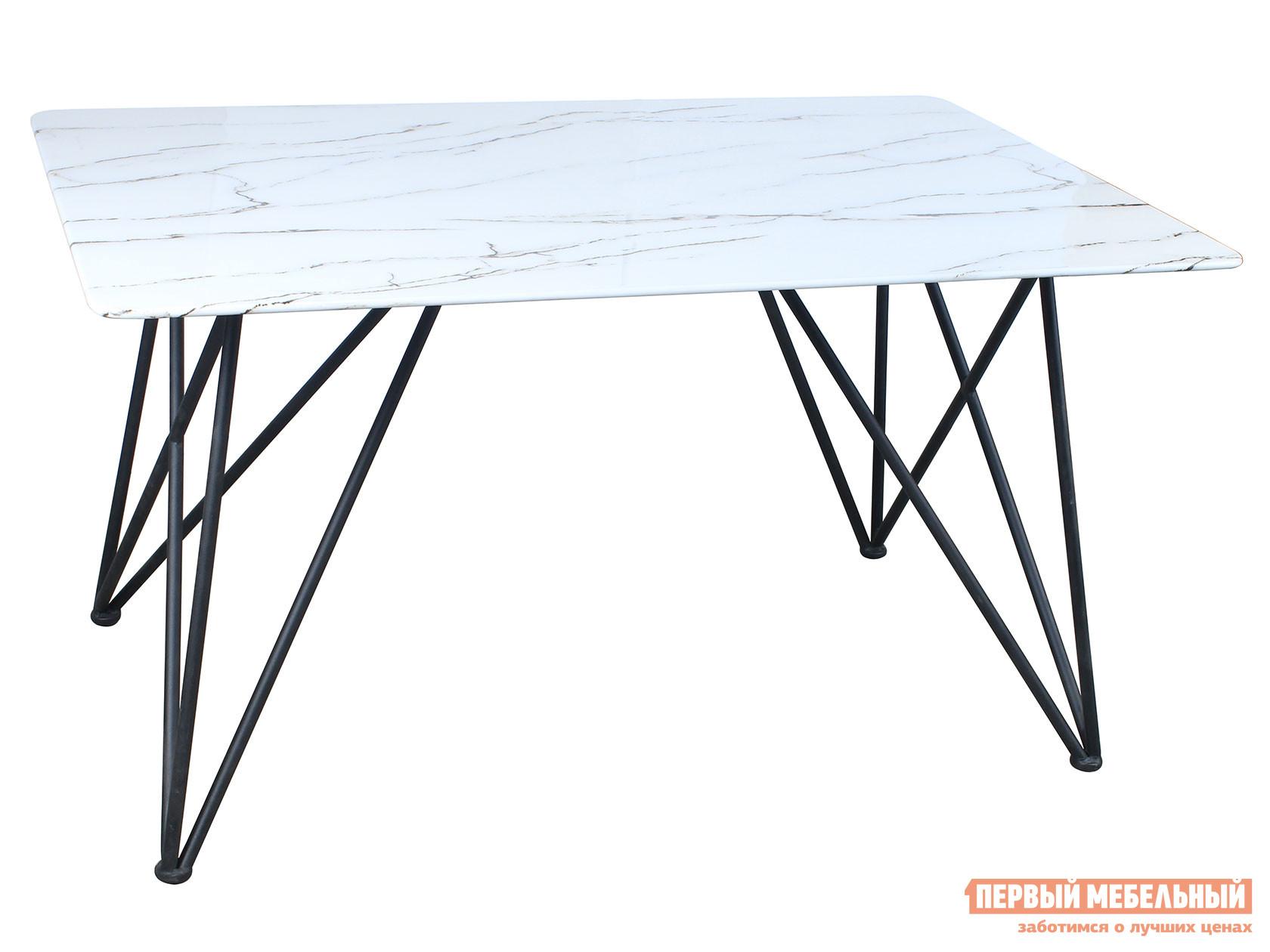 Кухонный стол  обеденный Сакраменто DT-968 Белый, стекло Stool Group 108804