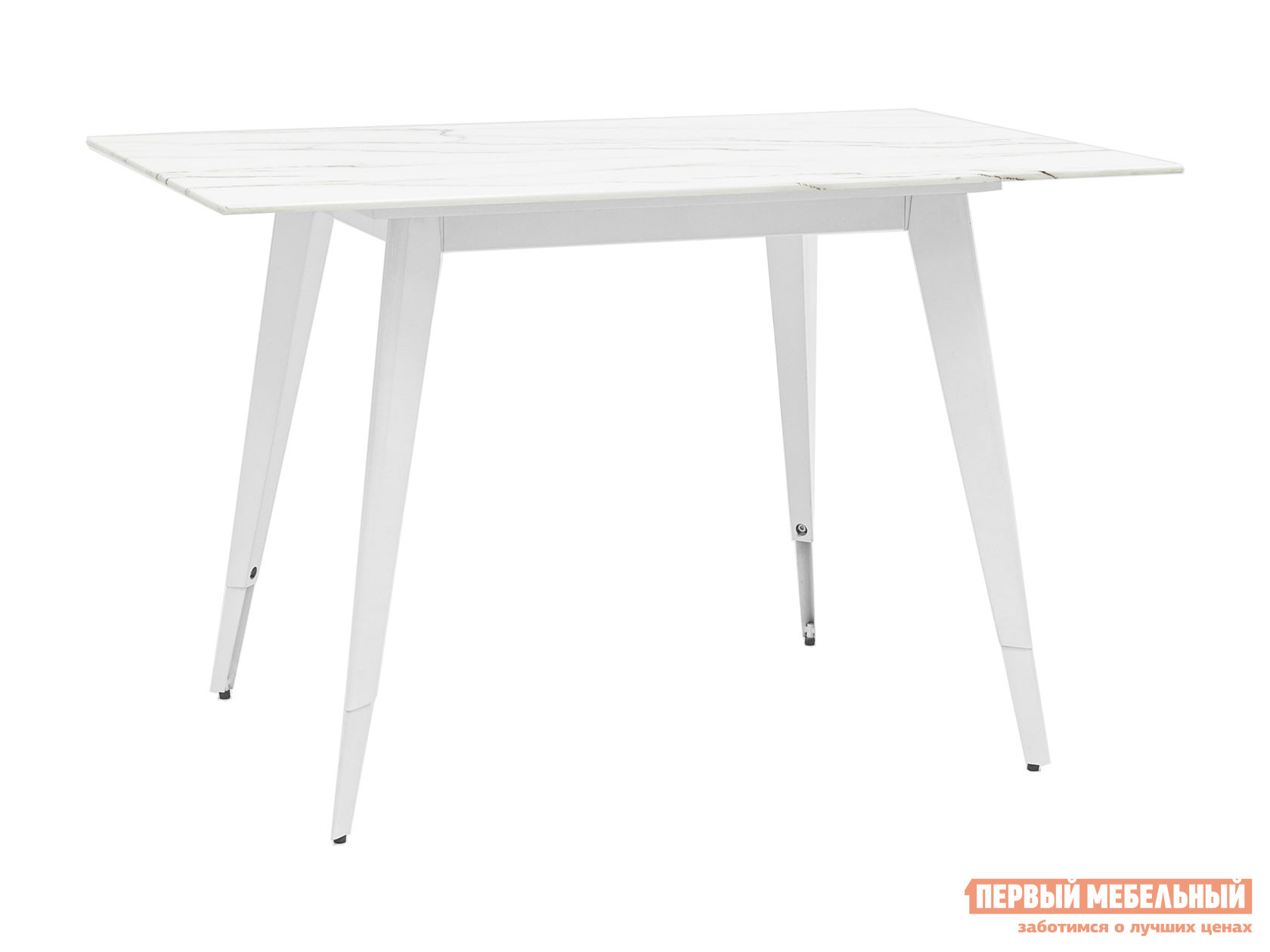 Кухонный стол  обеденный Ричмонд DT-983-G/W-120 Белый, стекло Stool Group 108792