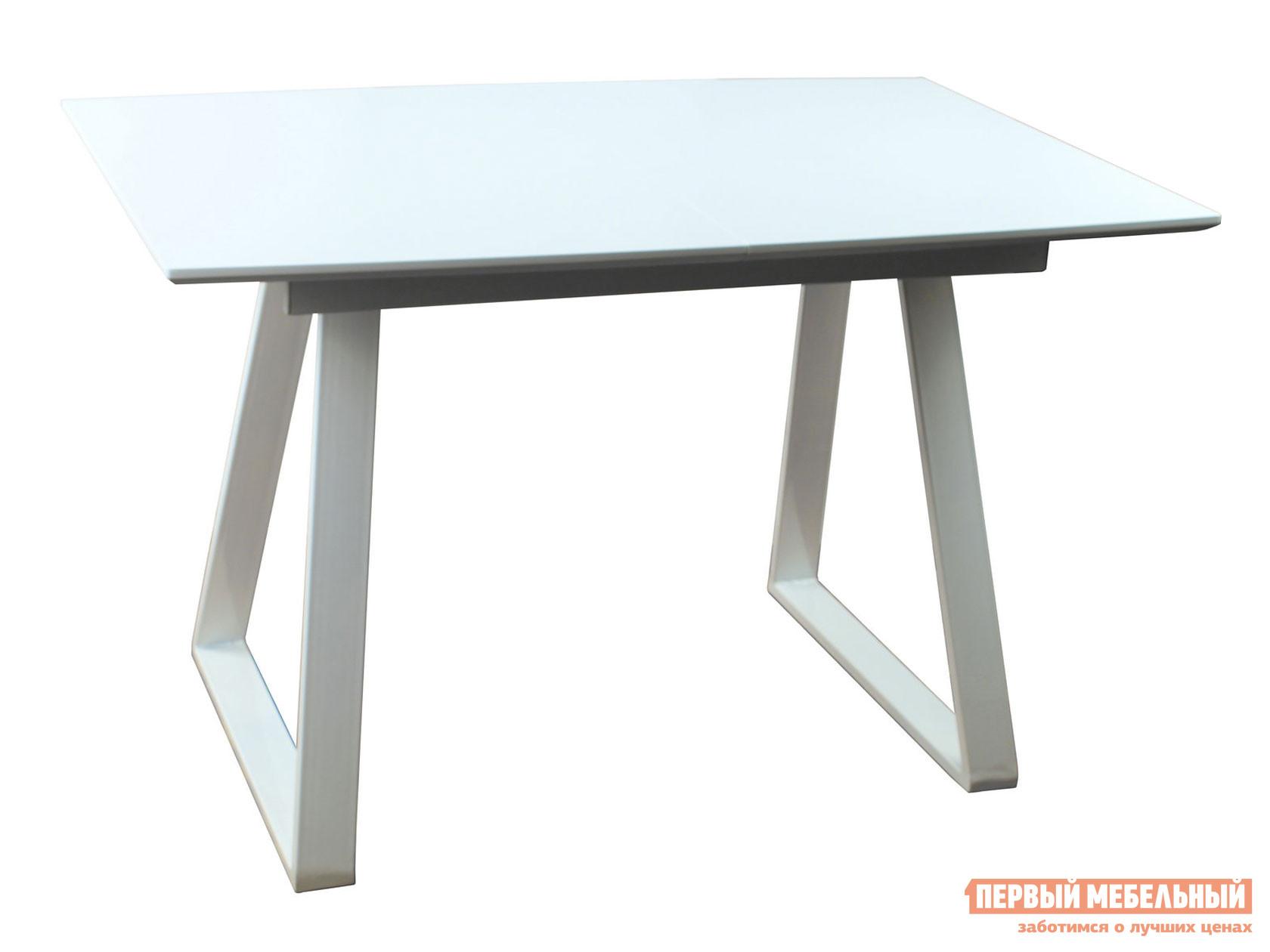 Кухонный стол  обеденный Детройт DT-935 Белый матовый / Cветлое дерево STOOL GROUP 108689