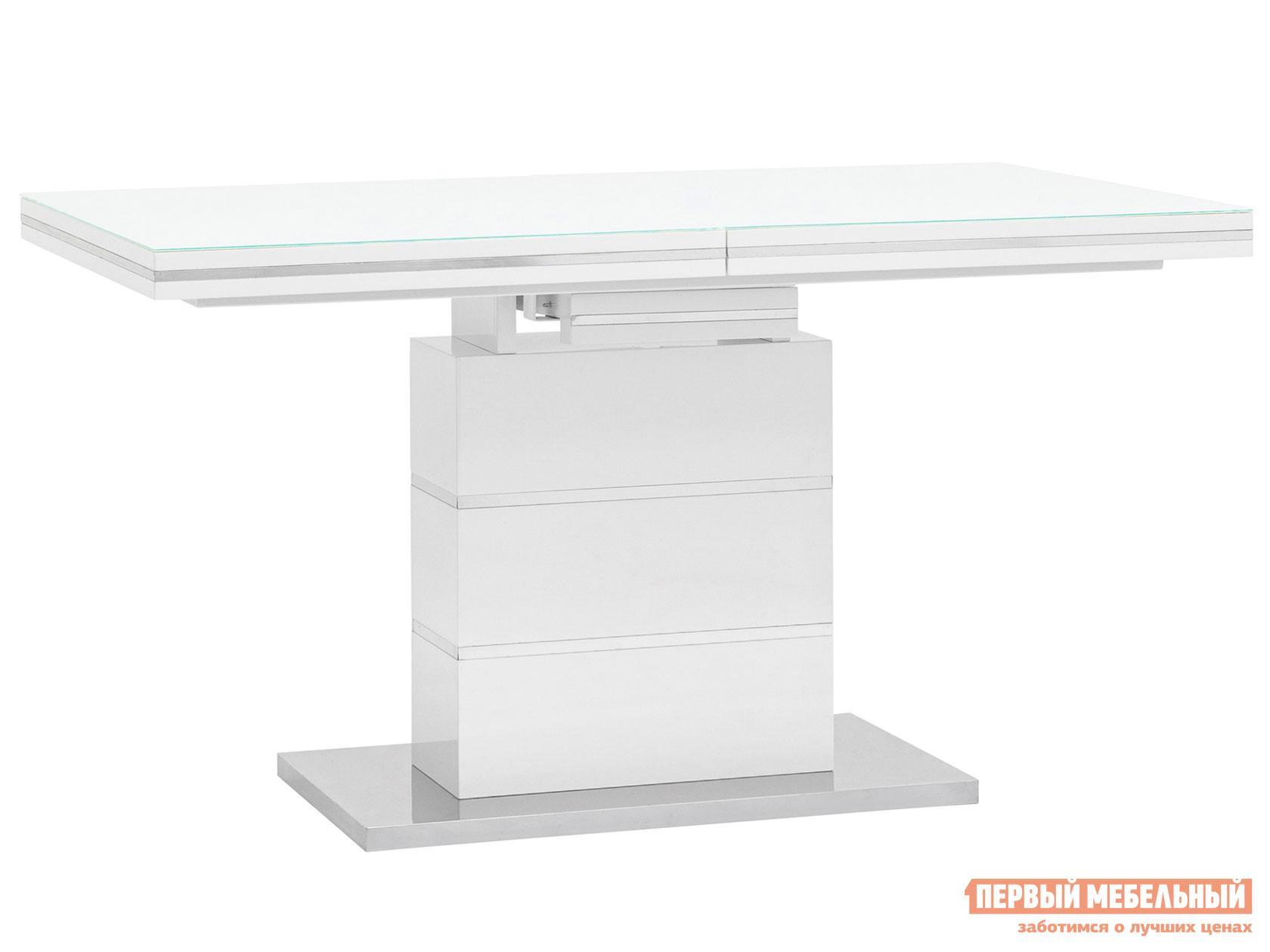 Кухонный стол Stool Group Стол обеденный Глазго, раскладной N-115-140/160-HGW DUAL