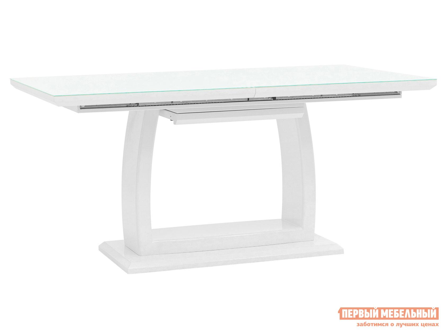 Кухонный стол Стол обеденный Орлеан, раскладной ET-1621-140/160-HGW DUAL Белый, Большой фото