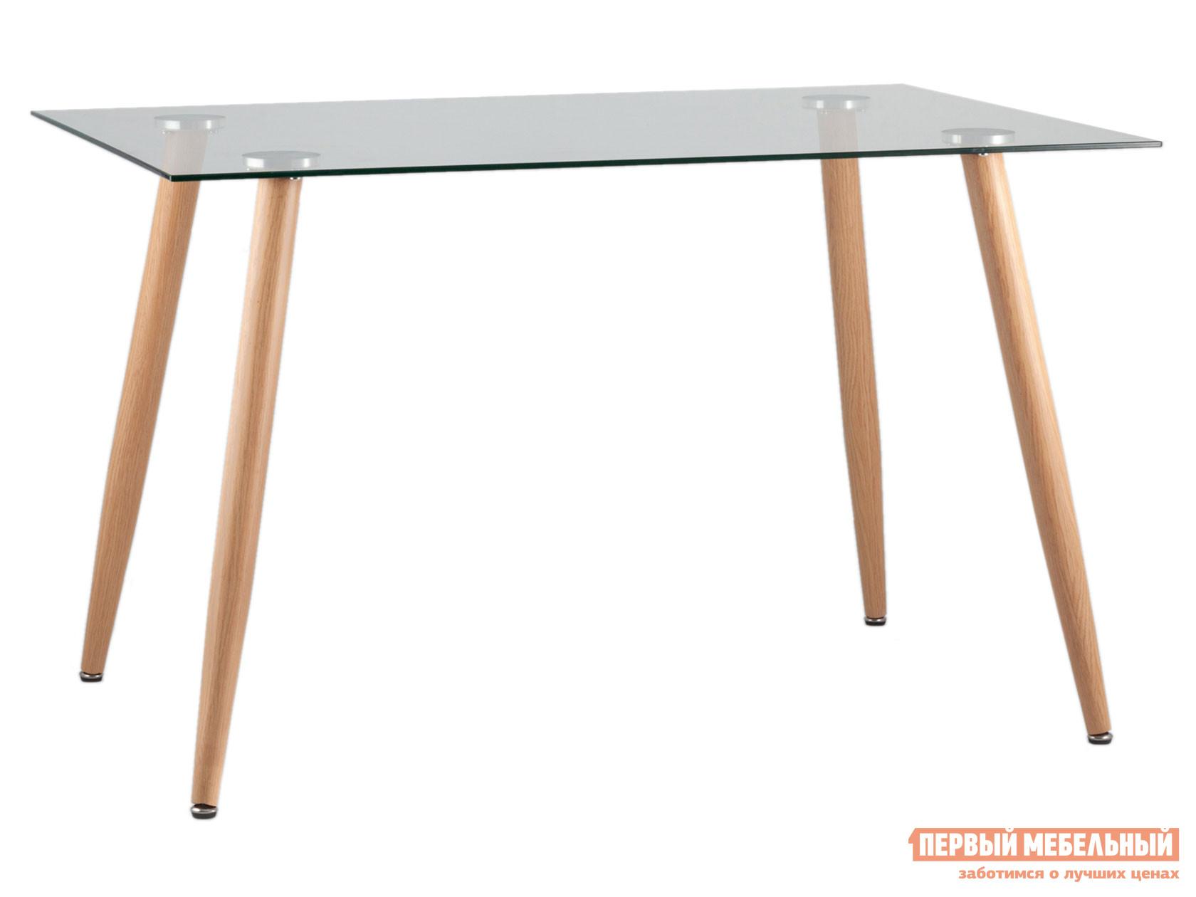 Кухонный стол  Освальд T022 + legs Прозрачное стекло / Металл Stool Group 102794