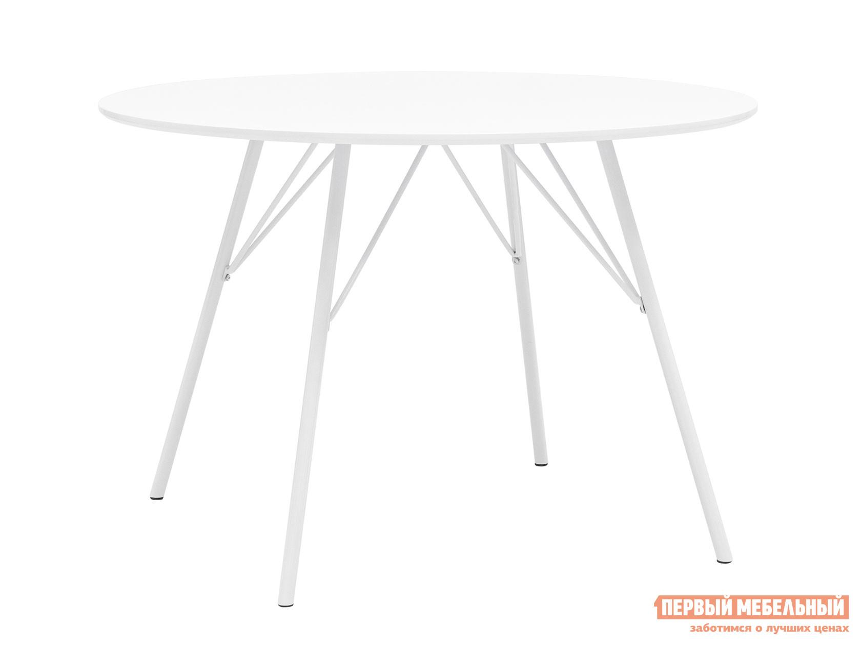 Кухонный стол  обеденный Мемфис DT-1810-110 DUAL Белый Stool Group 111412