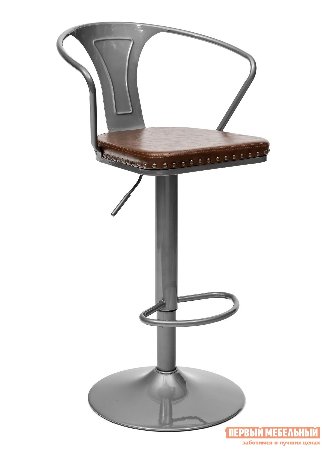 Барный стул с регулируемой высотой Stool Group TOLIX ARMS SOFT F2535L