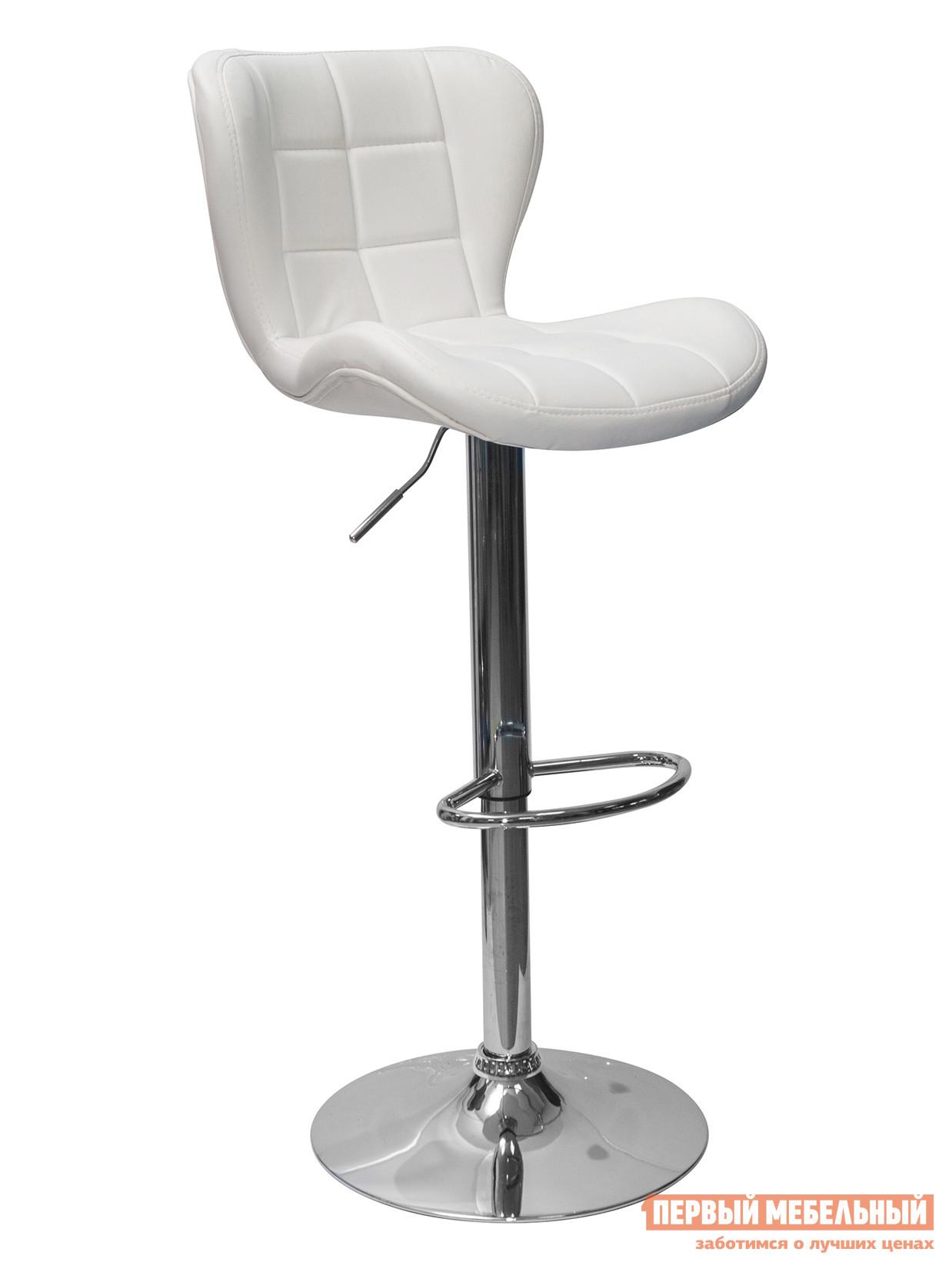 Барный стул Стул барный ПОРШЕ Белый, экокожа фото