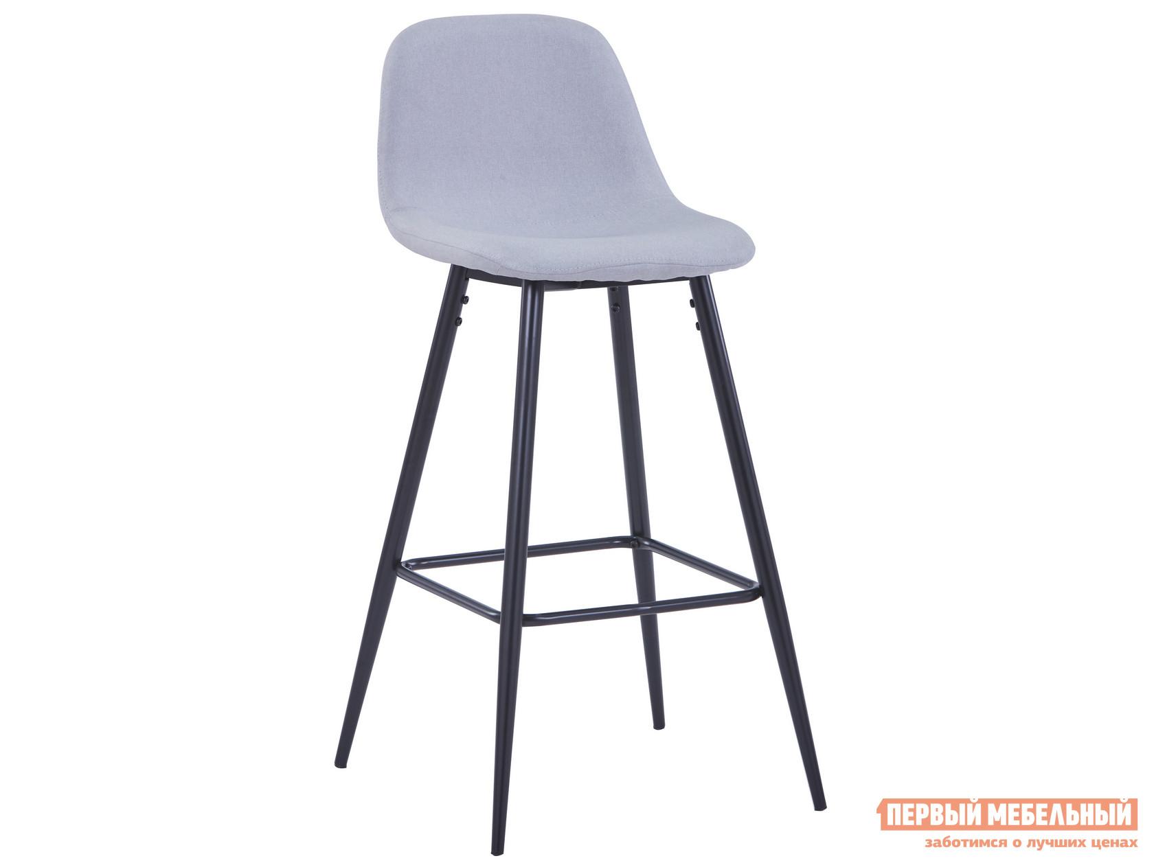Барный стул  Валенсия Светло-серый, рогожка STOOL GROUP 104924