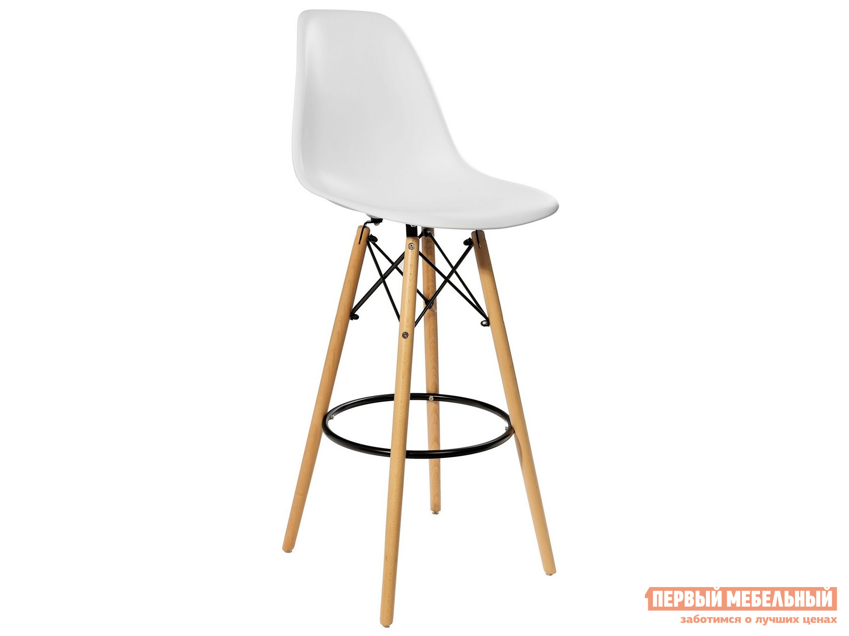 Барный стул  EAMES 8056H Белый STOOL GROUP 85873