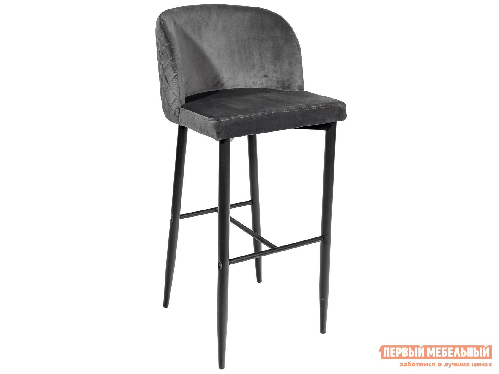 Барный стул  MC11B HLR-21 Серый, велюр Stool Group 85893