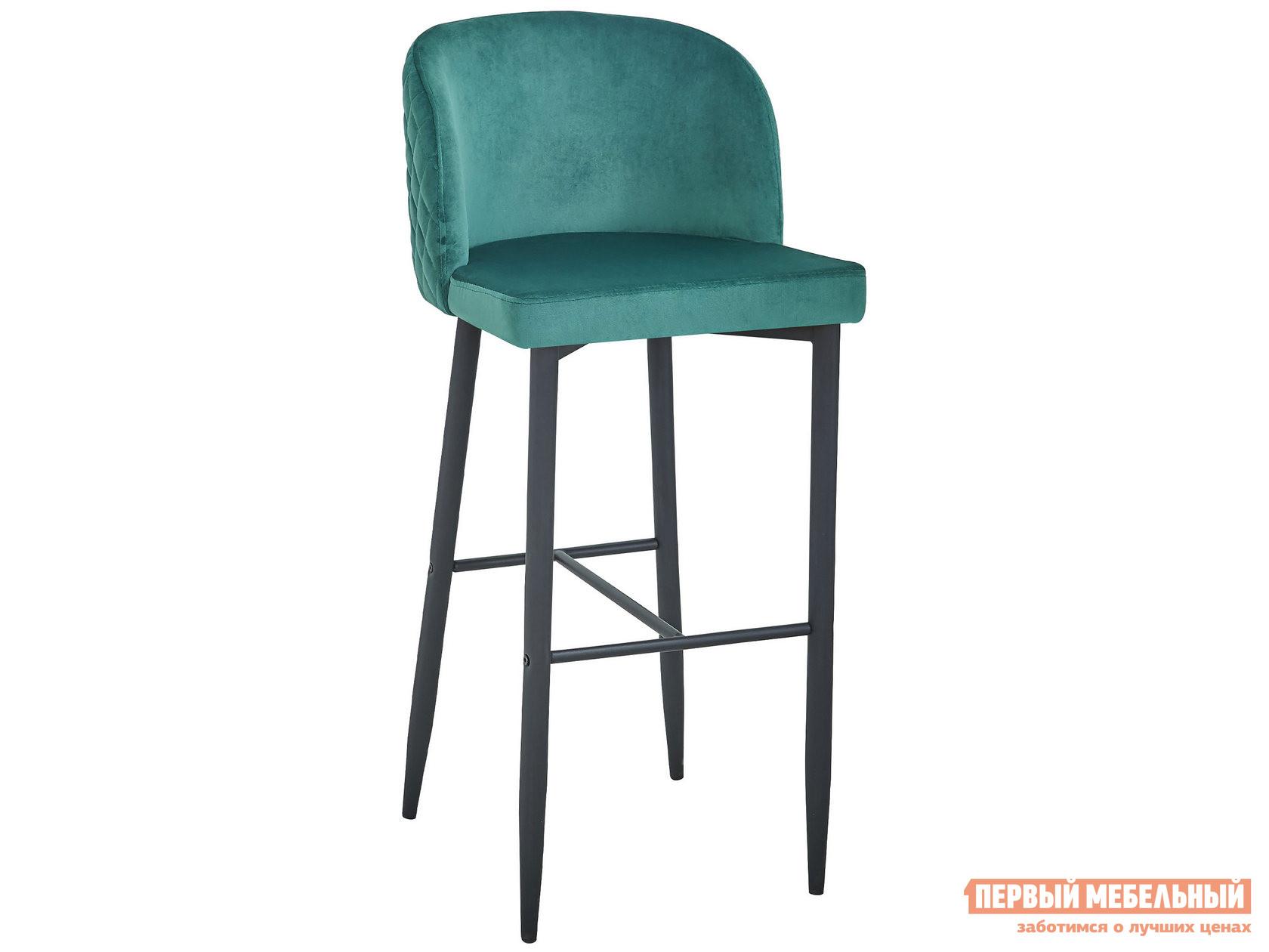 Барный стул  MC11B HLR-56 Изумрудный, велюр Stool Group 105045