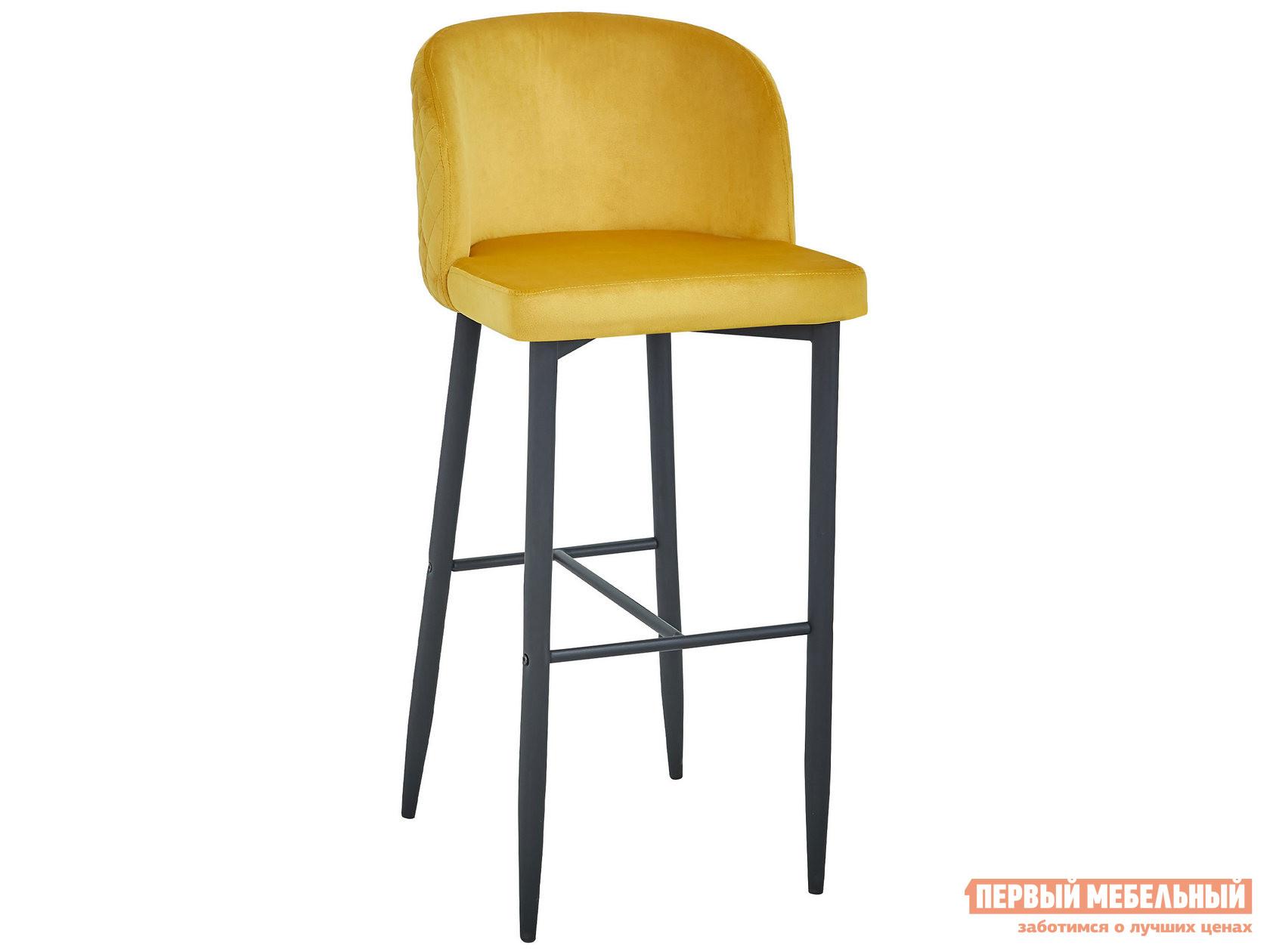 Барный стул MC11B HLR-41 Оранжевый, велюр фото